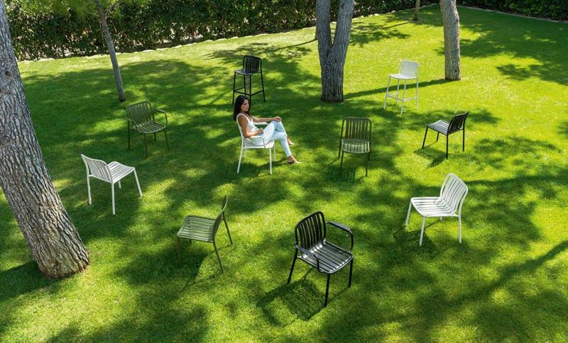 Parisian Street Furniture Collections
