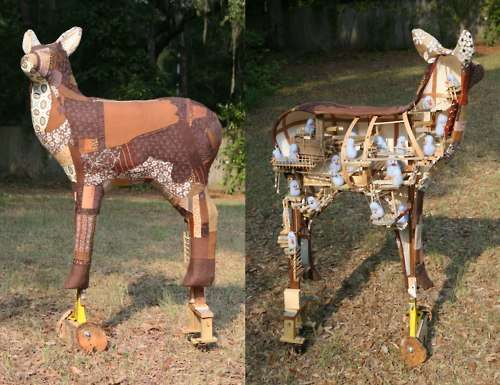 Whimsical Mechanical Animals
