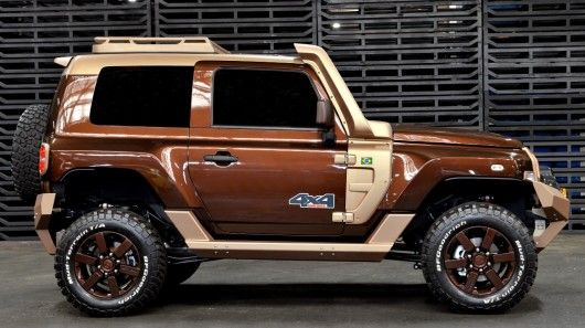 Earthy Off-Road SUVs