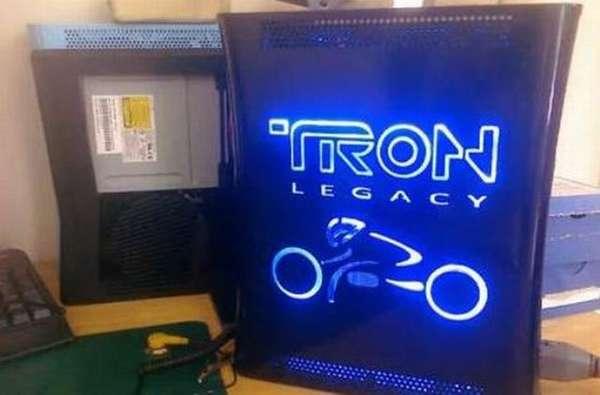 Sci-Fi Gamer Console Cases : TRON Legacy Xbox 360