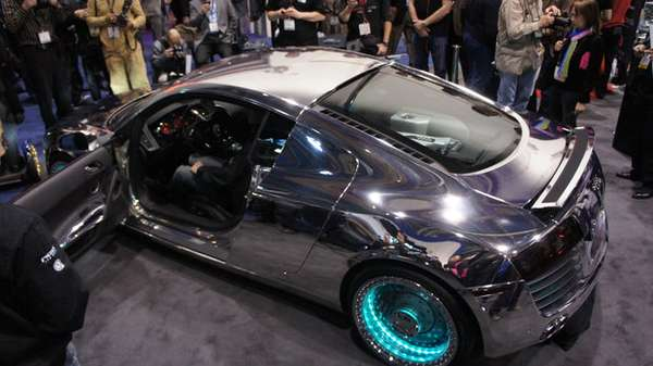 Where To Get Tron Paint Job Mercedes