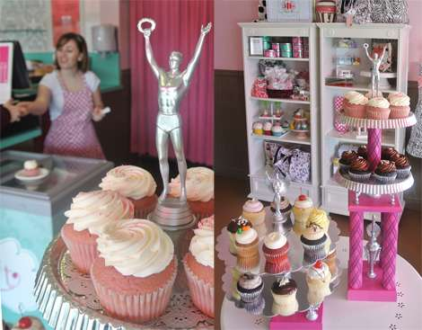Frosted Cupcake Trophies