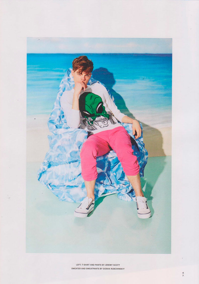 Tropical Menswear Editorials