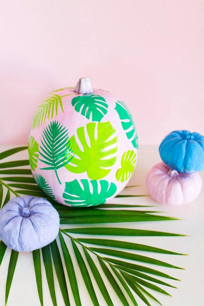 Tropical Pumpkin DIYs