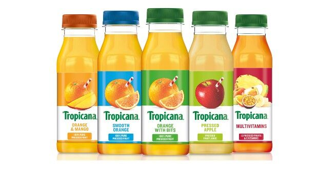 Modernized On-the-Go Juice Packaging