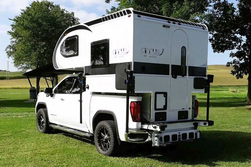 Well-Equipped Pickup Truck Campers