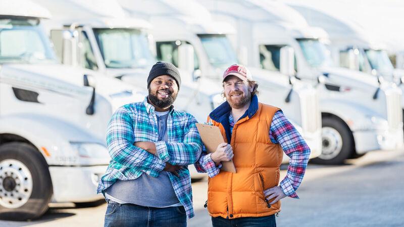 Truck Driver Appreciation Tabs