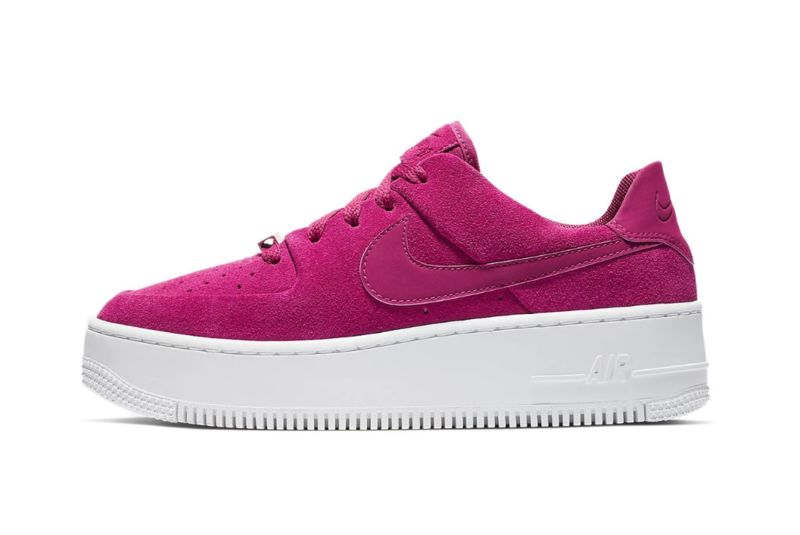 Summery Raspberry-Inspired Sneakers