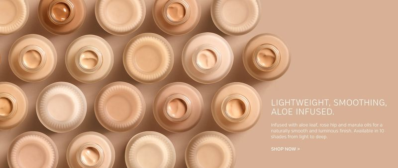 Serum-Infused Foundations