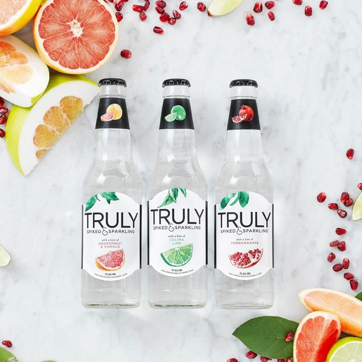 Boozy Sparkling Water Beverages