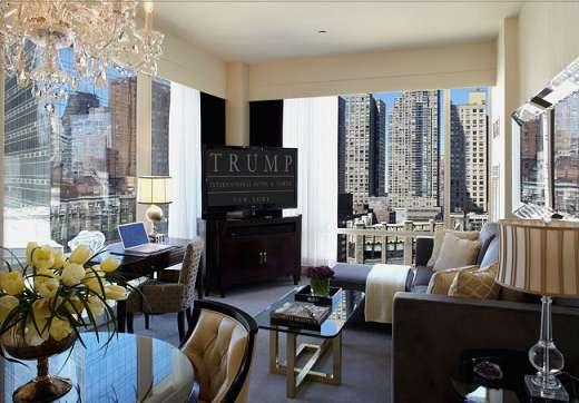 Swanky Celebratory Suites Trump Hotel New York 15th
