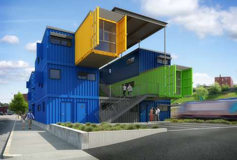 Shipping Container Offices Truth Box Architects Break