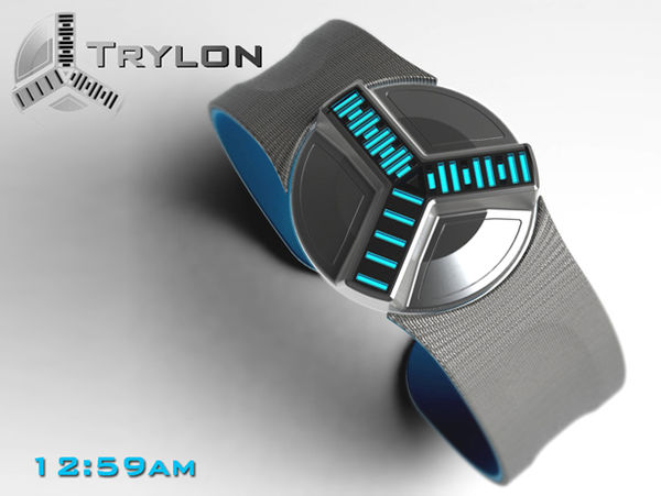 Time Machine Timepieces Trylon Watch
