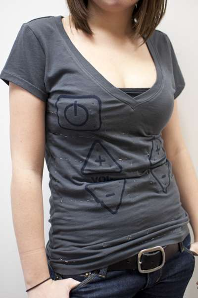 T-Shirt TV Controllers