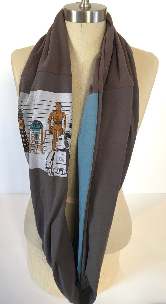 Upcycled T-Shirt Scarves