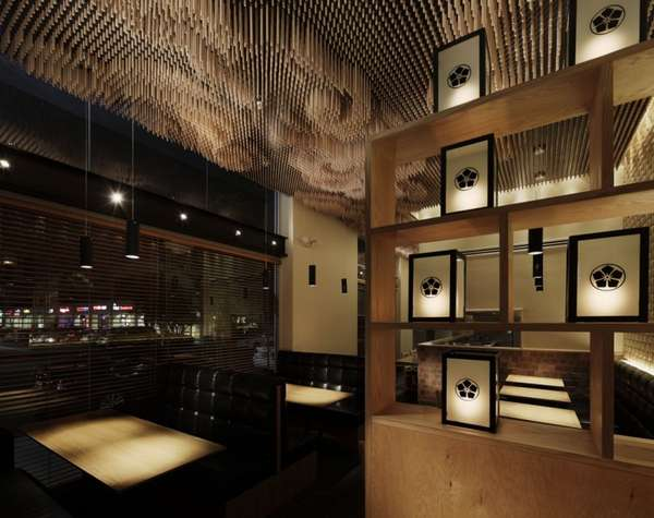 3D Pixelated Ceilings