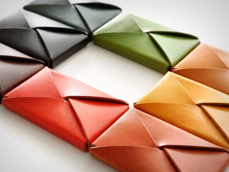 Foldable Stitch-Free Wallets