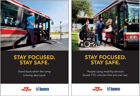 Pedestrian Safety Ads