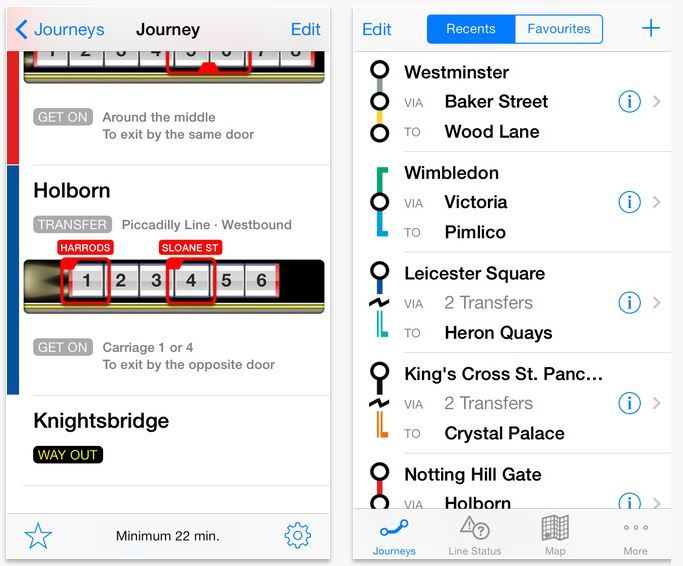 Station Navigation Apps