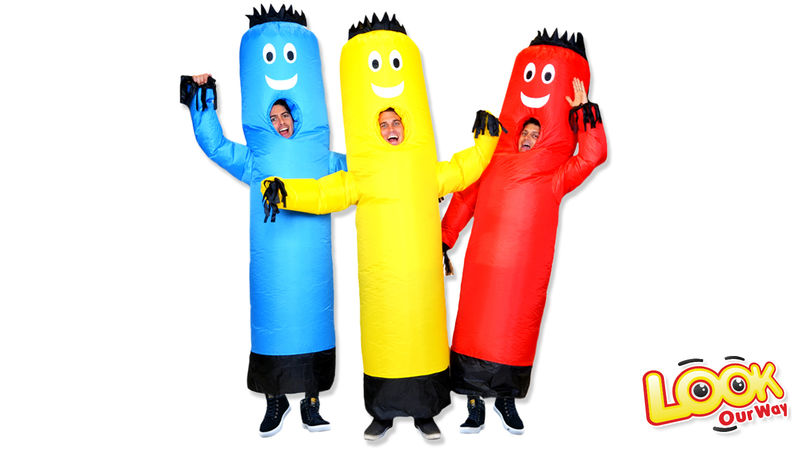 Inflatable Tube Man Costumes