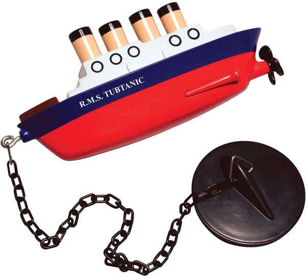 Sinking Ship Tub Toys