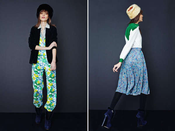 Playfully Patterned Fashion Styles