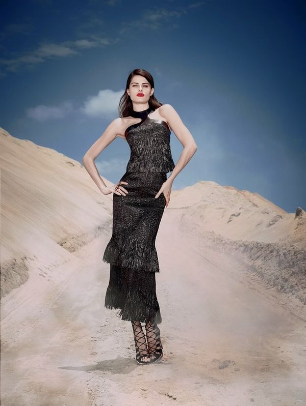 Statuesque Desert Fashion Ads