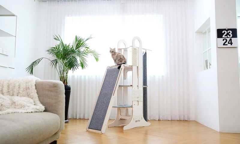 Chic Slender Feline Furniture