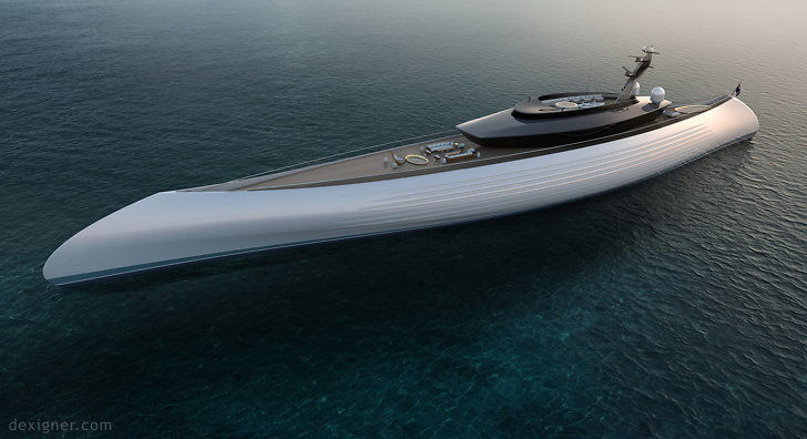 Canoe-Inspired Luxury Yachts
