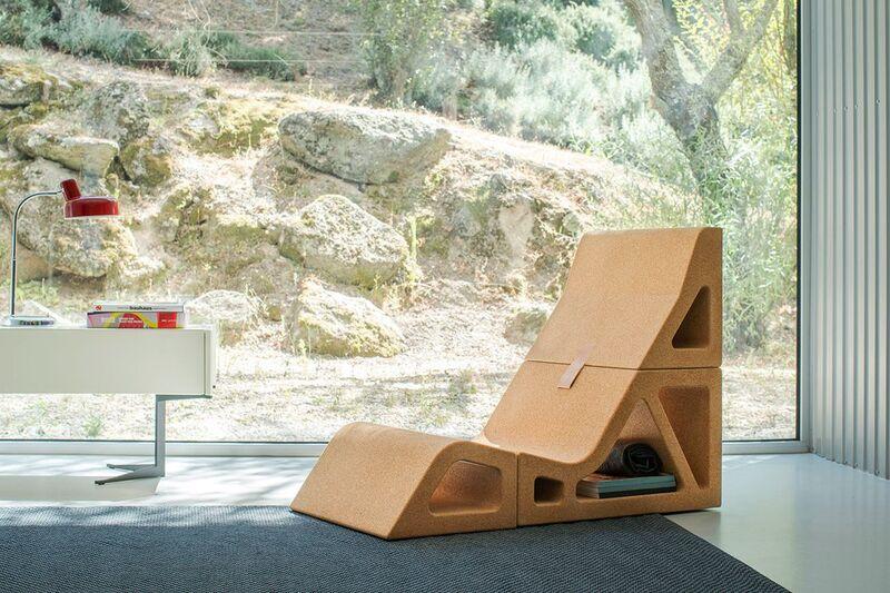 Shapeshifting Cork Furniture