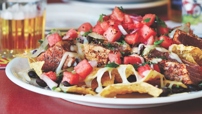 Fishy Watermelon Nachos