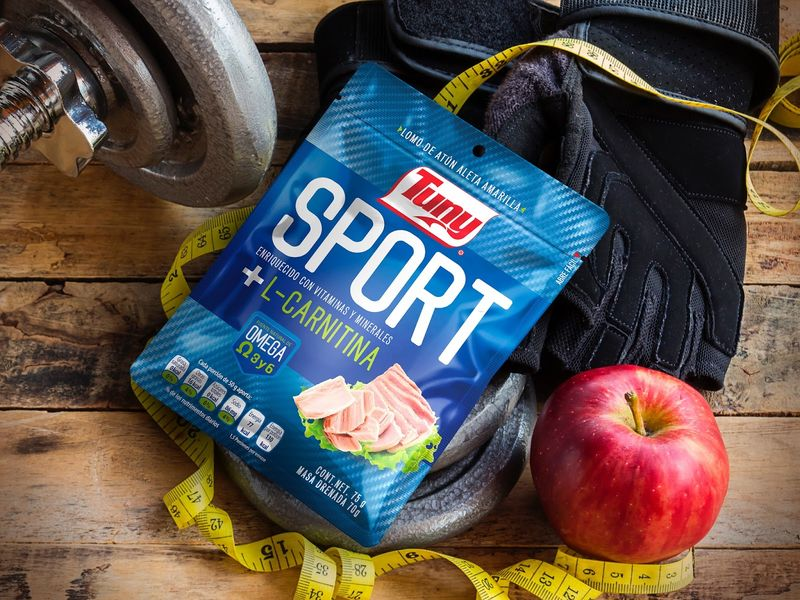 Athletic Tuna Snack Branding
