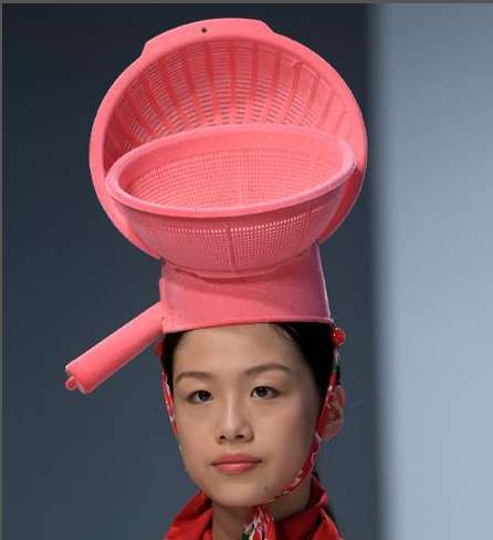 Plastic Container Headwear  London College of Fashion s Kitchen ... b29e4dd90dd