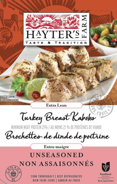 Tender Turkey Kebobs