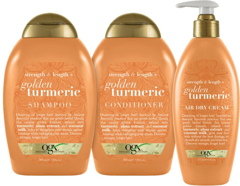 Turmeric-Powered Hair Products