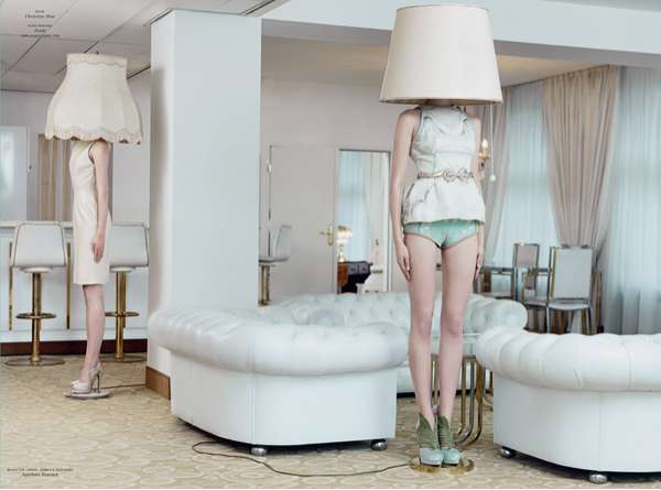 fashionable floor lamp editorials