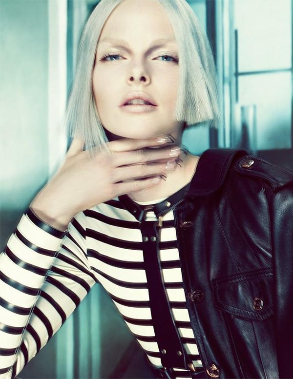 Furistic Silver-Haired Editorials