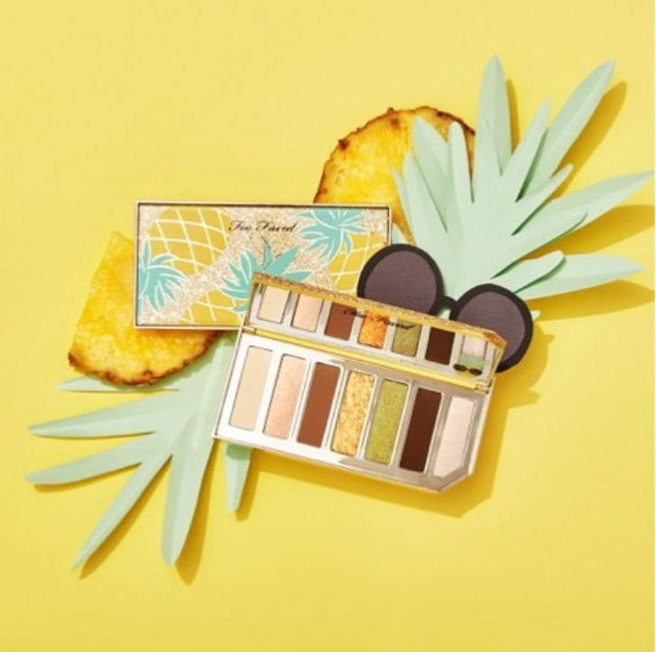 Pineapple-Themed Eye Shadow Palettes