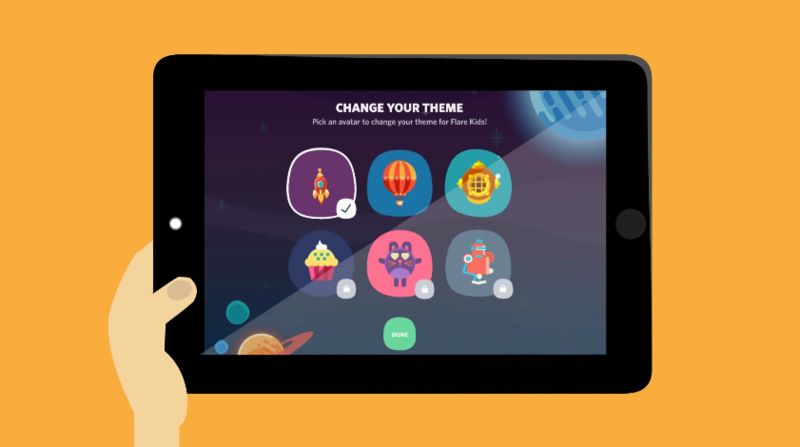 Kid-Tailored TV Apps