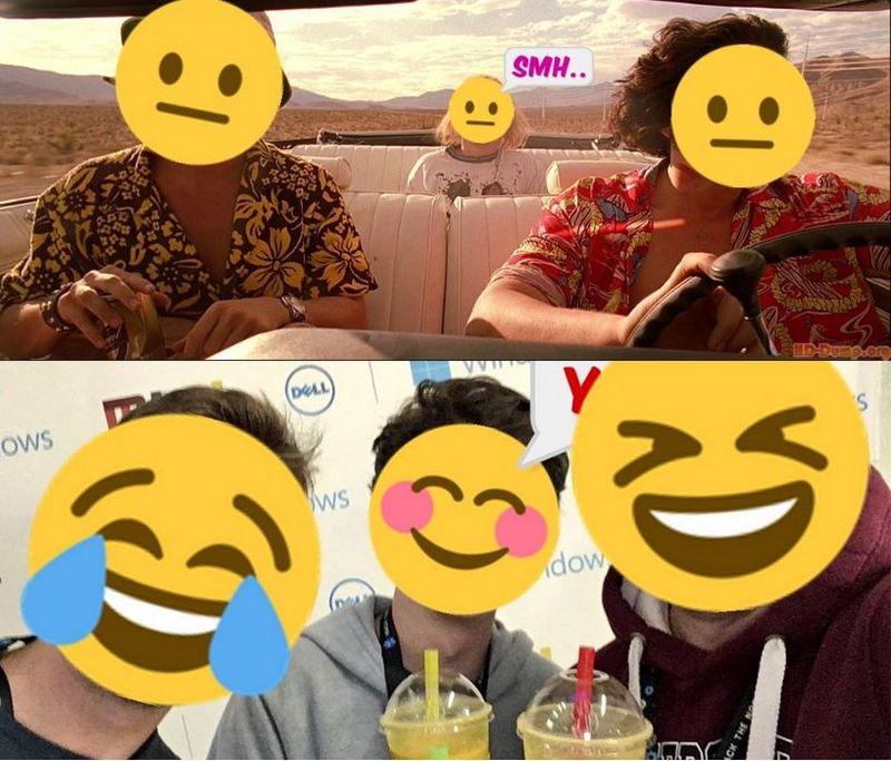 Face-Replacing Emoji Bots