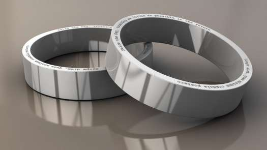 Social Media Wedding Bands