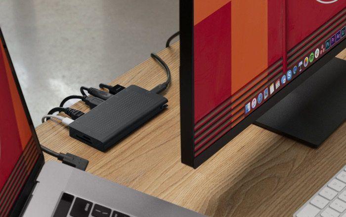 Discreet Connectivity Laptop Hubs