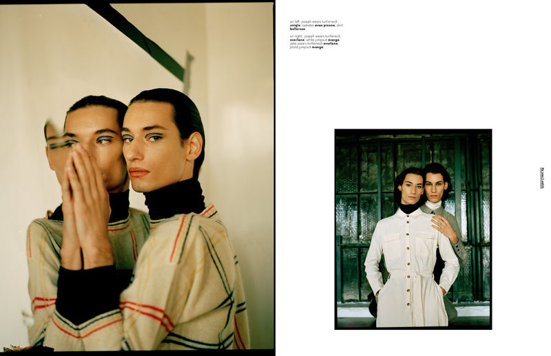 Twinning Fashion Editorials