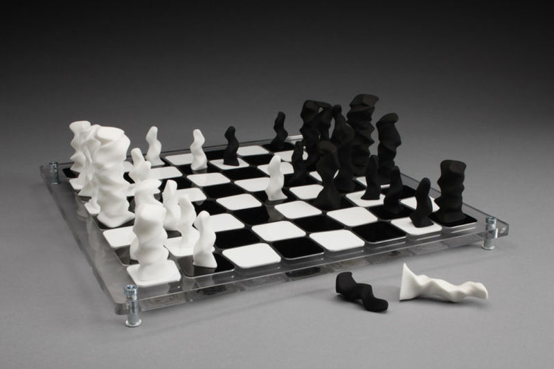 Abstract Chess Boards