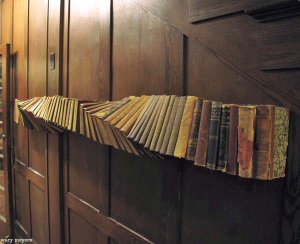 Spiralling Book Installations
