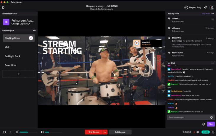 Streaming-Platform Software Releases