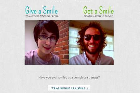 Stranger Smile-Sharing Sites