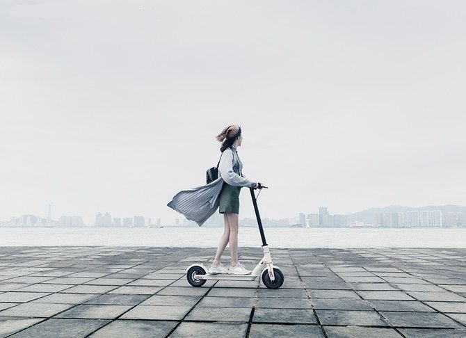Regenerative Braking Electric Scooters