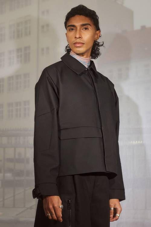 Utilitarian Sleek Sporty Jackets