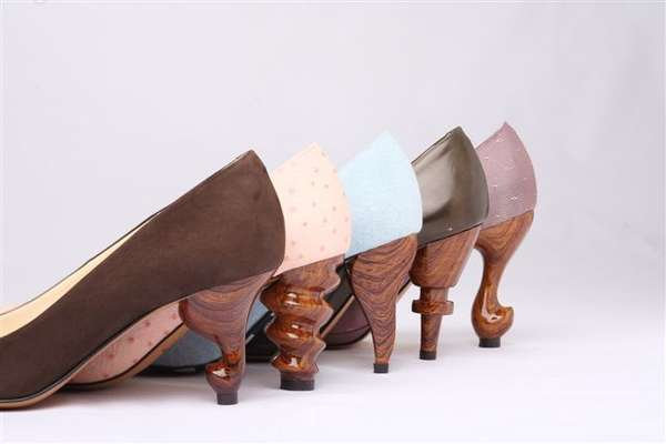 Eccentrically Carved Heels